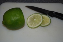 Fresh lime...