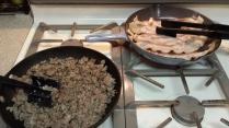 Sausage & Bacon...yummmm