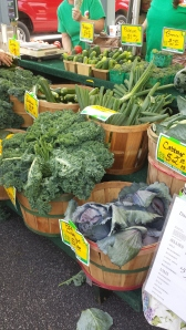 Fresh Veggies at the Farmers Market!